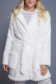 z supply Head In The Clouds Robe - Back cropped