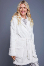 z supply Head In The Clouds Robe - Side cropped