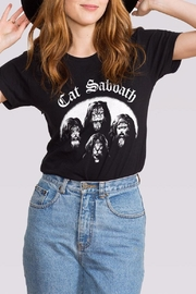 Headline Shirts Cat Sabbath Tee - Front cropped