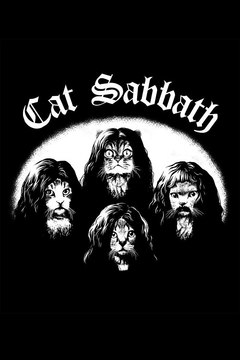 Headline Shirts Cat Sabbath Tee - Alternate List Image