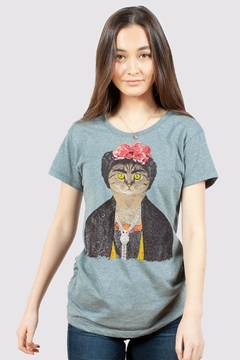 Headline Shirts Frida Gato Tee - Product List Image