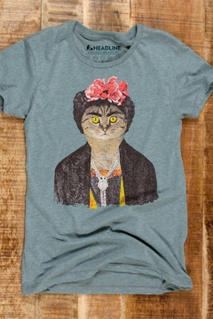 Headline Shirts Frida Gato Tee - Alternate List Image