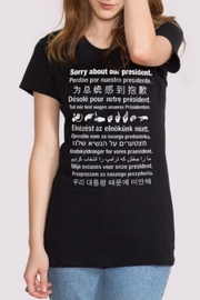 Headline Shirts Sorry About President Tee - Product Mini Image
