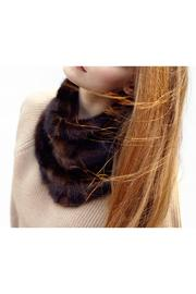 Headmistress Fur Cowl - Side cropped