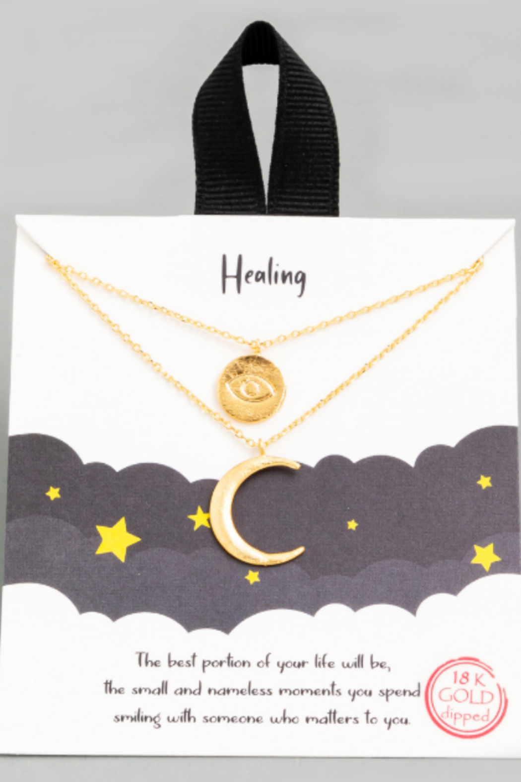 FAME ACCESORIES Healing Necklace - Main Image
