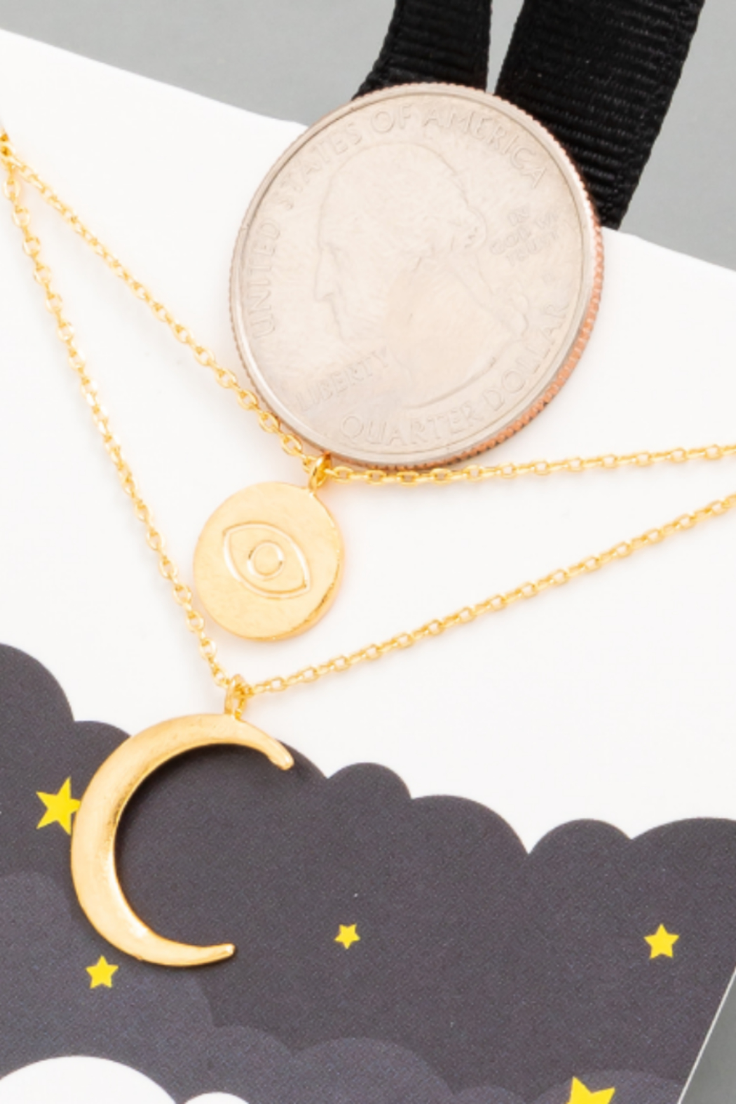 FAME ACCESORIES Healing Necklace - Front Full Image