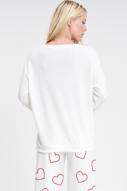 Phil Love  Heart All Over Lounge Top - Side cropped