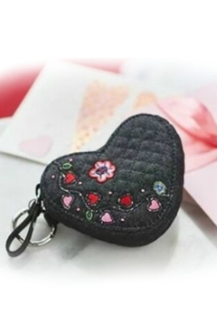 Vera Bradley Heart Bag Charm - Product List Image