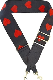 Ahdorned Heart Bag Strap - Product Mini Image