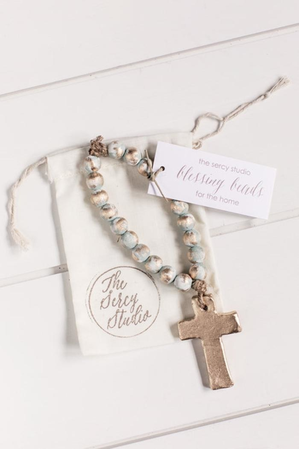The Sercy Studio  Heart Blessing Beads - Main Image