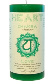 Crystal Journey Candles Heart Chakra Candle - Product Mini Image