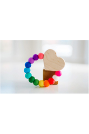 Bannor Toys  Heart Charm Teether - Front cropped