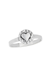 Tiger Mountain Heart Circle Ring - Product Mini Image