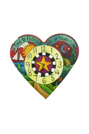 Sincerely, Sticks Heart Clock - Product Mini Image