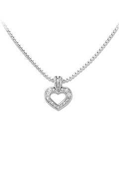 JOHN MEDEIROS Heart-Collection Two-Hearts Inseparable-Slider-Necklace - Product List Image