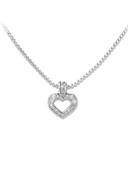 JOHN MEDEIROS Heart-Collection Two-Hearts Inseparable-Slider-Necklace - Product Mini Image