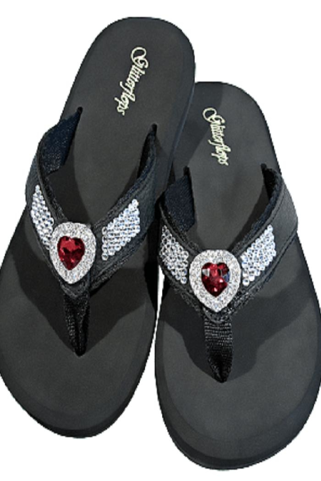 d1dd5c3dc Glitterflops Heart Conch Flipflops from Texas by Rock2Royal Boutique ...