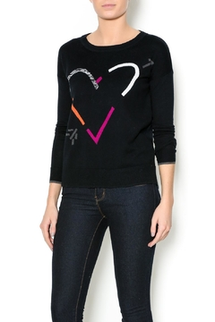 Lisa Todd Heart Crew-Neck Sweater - Product List Image