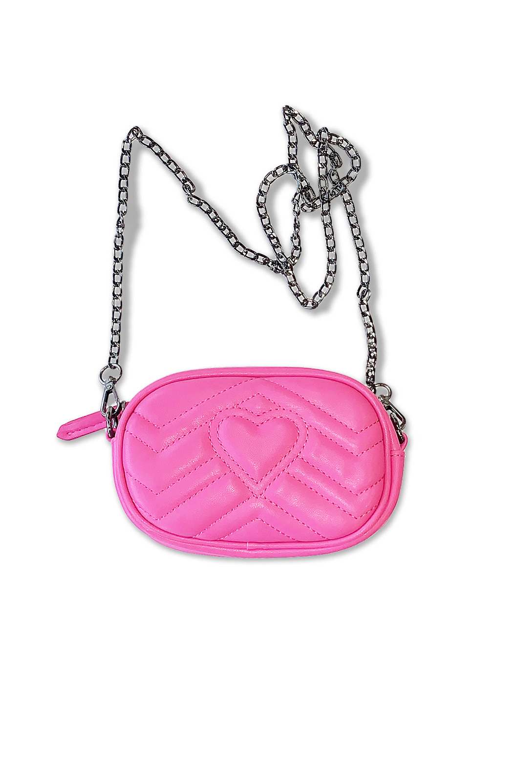 CHLOE K. NEW YORK Heart Fanny Pack - Front Cropped Image