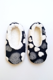 Simply Chic Heart Fleece Slippers - Product Mini Image