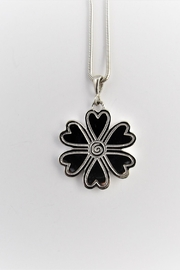 Charsinsky Heart Flower Pendant - Product Mini Image