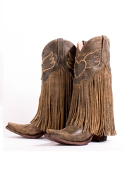 Lane Boots Heart Fringe Boots - Product Mini Image