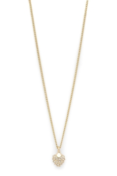 Pilgrim Heart Gold-Plated Necklace - Alternate List Image