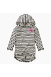 Tea Collection Heart Hi-Lo Pullover Hoodie - Front cropped