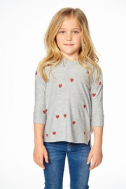 Chaser Heart Hoodie - Front cropped