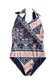 Roxy Heart In The Waves One Piece - Front cropped