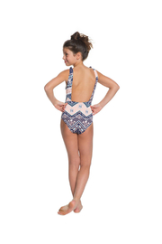 Roxy Heart In The Waves One Piece - Back cropped