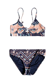 Roxy Heart In The Waves Triangle Bikini Set - Front cropped