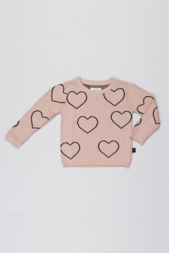 Huxbaby Heart Knit Jumper - Alternate List Image
