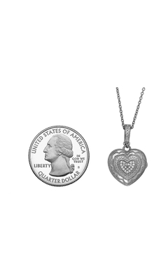 With You Lockets Heart Locket Necklace - Product List Image