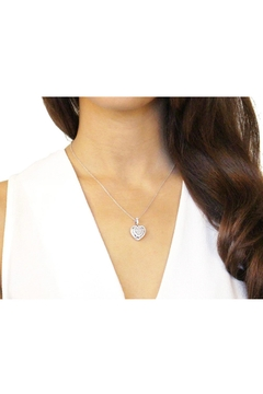 With You Lockets Heart Locket Necklace - Alternate List Image