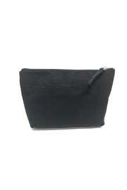 Quilted Koala Heart Makeup Pouch - Front full body