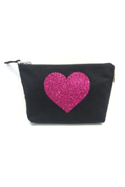 Quilted Koala Heart Makeup Pouch - Product Mini Image