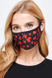 Amite  Heart Mask - Product Mini Image