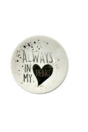 Evergreen Heart Mini Dish - Product Mini Image