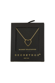 Secret Box Heart Necklace - Product Mini Image