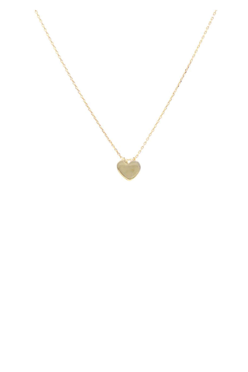 US Jewelry House Heart Necklace - Front Cropped Image