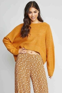 Sadie & Sage Heart of Gold Sweater - Product List Image