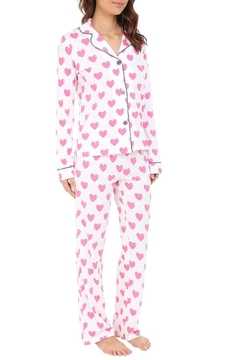 PJ Salvage Heart Pajama Set - Product List Image