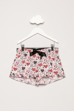 Shoptiques Product: Heart Pajama Shorts