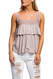 Anama Heart Patch Tank - Front cropped