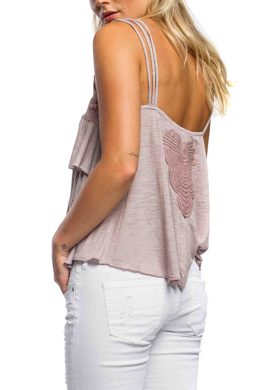 Anama Heart Patch Tank - Front Full Image
