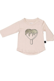 Huxbaby Heart Pop Long Sleeve Top - Product Mini Image
