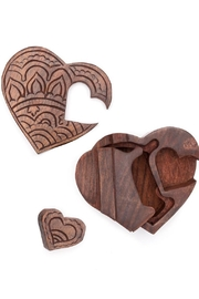Matr Boomie Heart Puzzle Box - Front full body