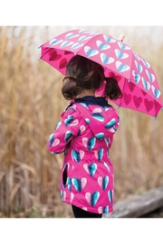 Hatley Heart Rain Jacket - Front full body