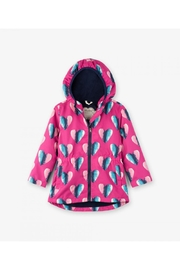 Hatley Heart Rain Jacket - Front cropped